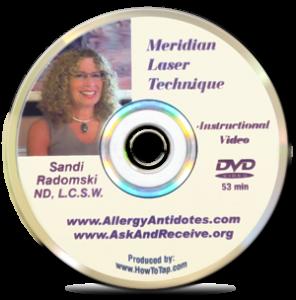Meridian Laser Technique DVD by Sandi Radomski