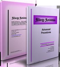 Allergy Antidotes System manuals by Sandi Radomski